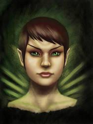Romulan Portrait