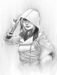 Modern Assassin -greyscale ver-
