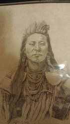 Indian chief by Madartink