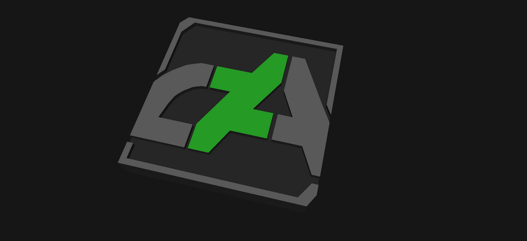 3D DeviantArt hybrid logo in SketchUp 8 by RDSyafriyar2000
