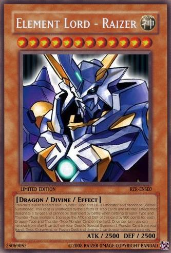 Yu-Gi-Oh Card: Element Lord 1 by RazerDragonXSE on DeviantArt Element Dragon Yugioh