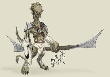 Concept Creature by JLCG