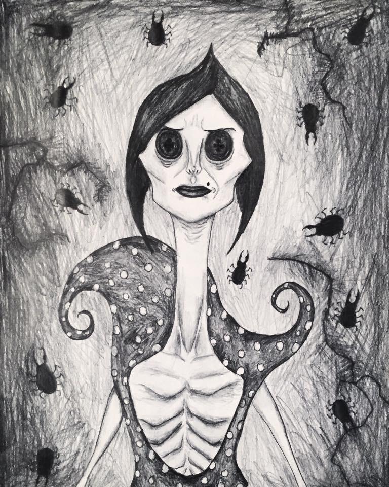 The Other Mother The Beldam From Coraline By Kongzilla2010 On Deviantart