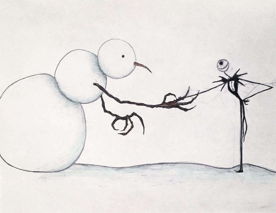 The Abominable Snowman meets Jack Skellington by Kongzilla2010