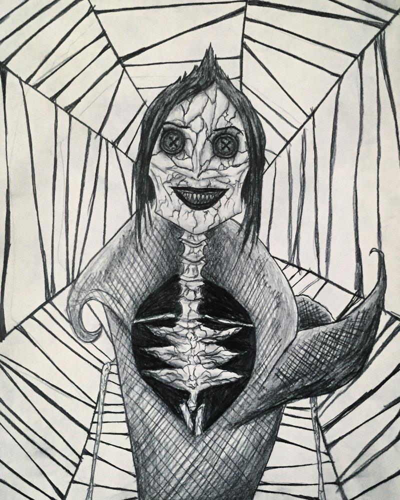 Beldam Drawing. by Kongzilla2010