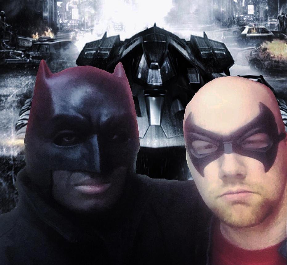 Batmobile Selfie. by Kongzilla2010