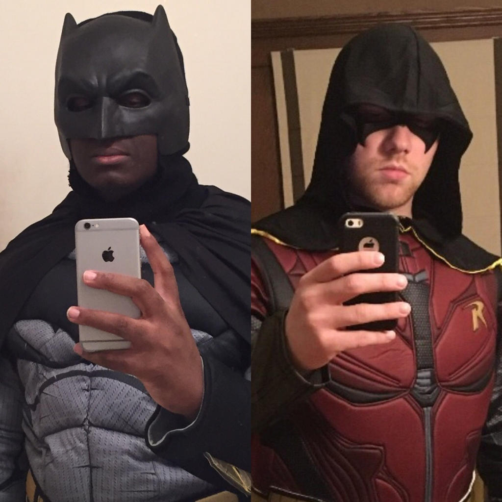 Batman and Robin: The Dynamic Duo. by Kongzilla2010