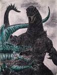 My version of Godzilla vs Zilla.