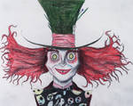 Mad Hatter Sketch. by Kongzilla2010