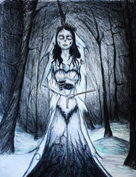 Emily from Corpse Bride. by Kongzilla2010