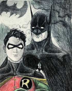 Batman and Robin.