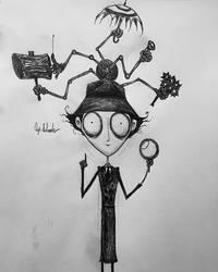 Tim Burtons Inspector Gadget. by Kongzilla2010
