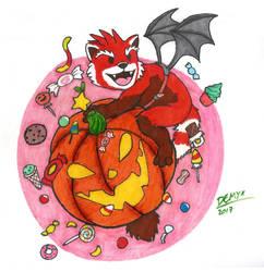 Halloween Sticker Design (Old art)