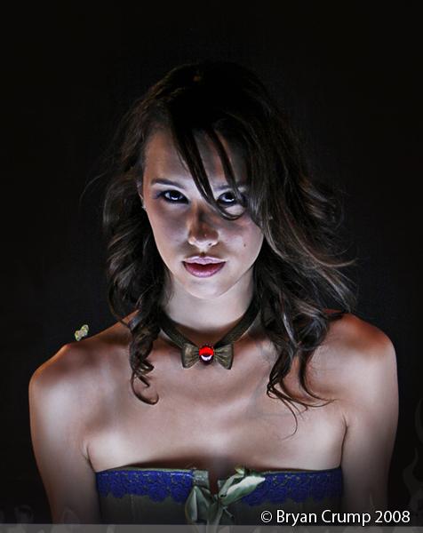 Jen Underlit Portrait by thebryancrump