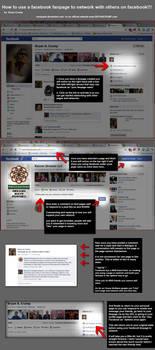facebook fanpage networking