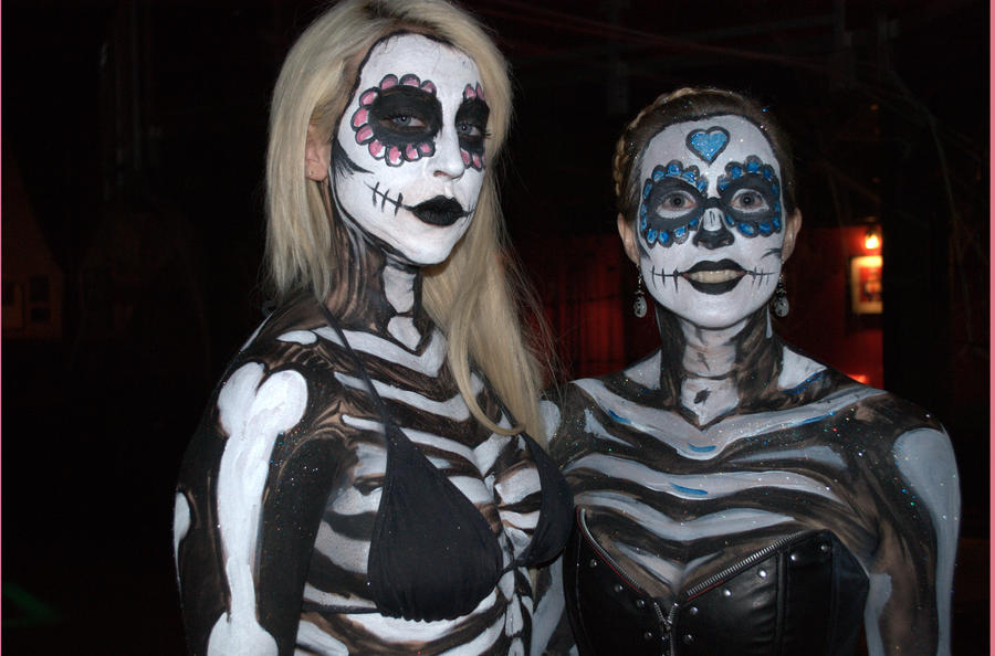 Image result for sugar skull body paint