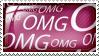 OMG Stamp by Wearwolfaa