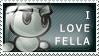 I Love Fella by Wearwolfaa