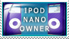 iPod Nano Owner by Wearwolfaa
