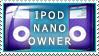 iPod Nano Owner by Wearwolfaa