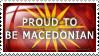 Proud to be Macedonian by Wearwolfaa