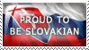 Proud to be Slovakian