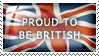 Proud to be British by Wearwolfaa