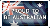 Proud to be Australian by Wearwolfaa