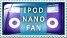 iPod Nano Fan by Wearwolfaa