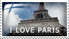I Love Paris by Wearwolfaa