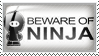 Beware of Ninja by Wearwolfaa