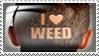 I Love Weed by Wearwolfaa