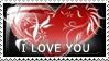 I Love U 2 by Wearwolfaa