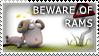 Beware of Rams by Wearwolfaa
