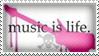 Music Is Life by Wearwolfaa