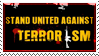 Stand United Against TERRORISM by Wearwolfaa