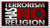 Terrorism Has No Religion by Wearwolfaa