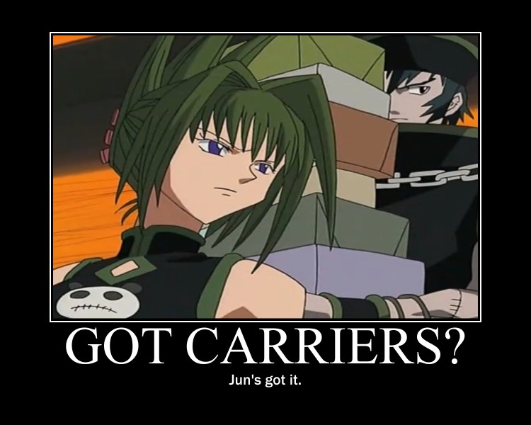 Carriers motivational by shamanidiot