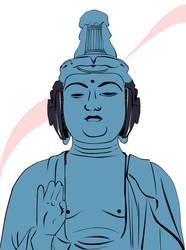 Buddha In My Hat by Dotty1990