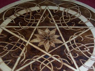 Mandala Pentacle by parizadhe