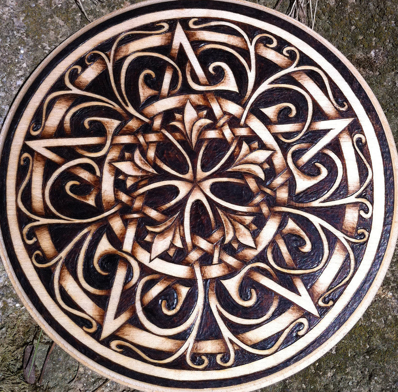 Garden Gate Pentacle By Parizadhe On Deviantart