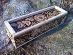 Victorian Blossoms Pencil Box