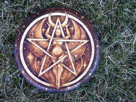 2015.1 Moon Goddess Pentacle