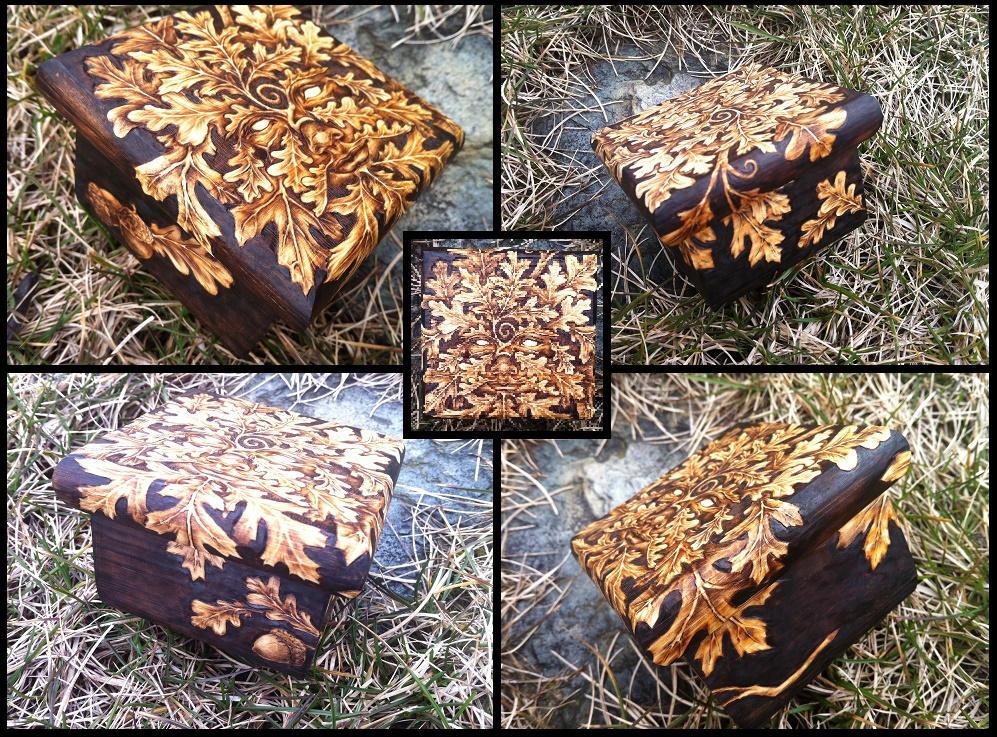 2015 Oak GreenWoman Trinket Box