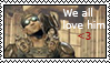 We all love Baird Stamp by GearsGirl6295