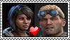 Baird and Sam Stamp by GearsGirl6295
