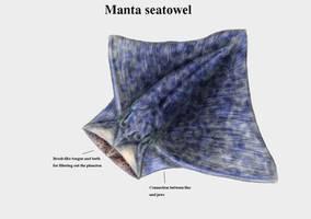 REP: Manta seatowel by Ramul