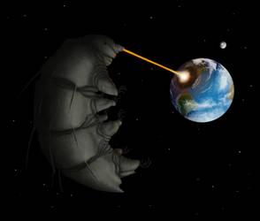 Tardigrade apocalypse by Ramul