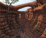 Through the ravine