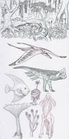 Creature doodles, the second